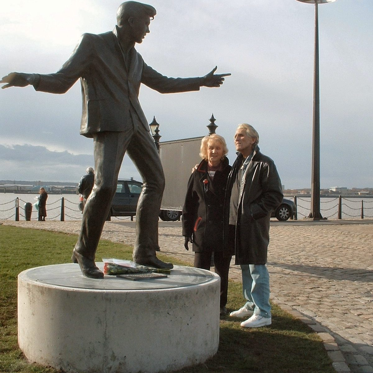 Billy Fury Statue move