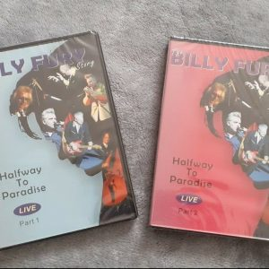 billy fury story dvd's from the stage show